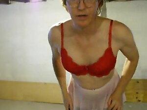 sissyeric red lace 36c bra