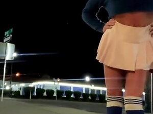 Gorgeous Public Dildo Bimbo Slut Adventures of Cindie Love