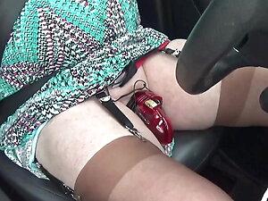 transgender travesti sounding urethral  outdoor lingerie 64a
