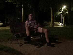 transgender travesti sounding urethral  lingerie outdoors 94