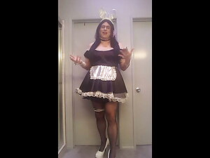 A Maid Bunny Outfit Video
