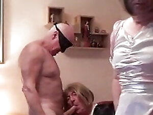Two slut maids getting fucked