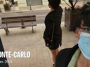 Walking out in Monaco ...