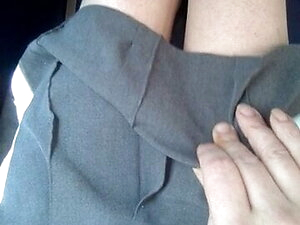 On The Buses, (Femboi In School Uniform) Short.