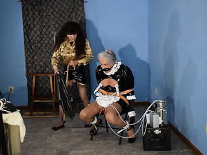 Maid Ronni gets the Milking Machine & more 7-15-21 Camera 1