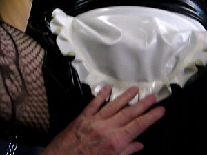 Trans rubberdoll fucked by finger 5